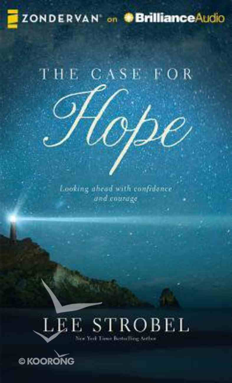 The Case For Hope (Unabridged, 4 Cds) CD