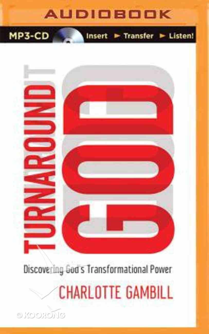 Turnaround God (Unabridged, Mp3) CD