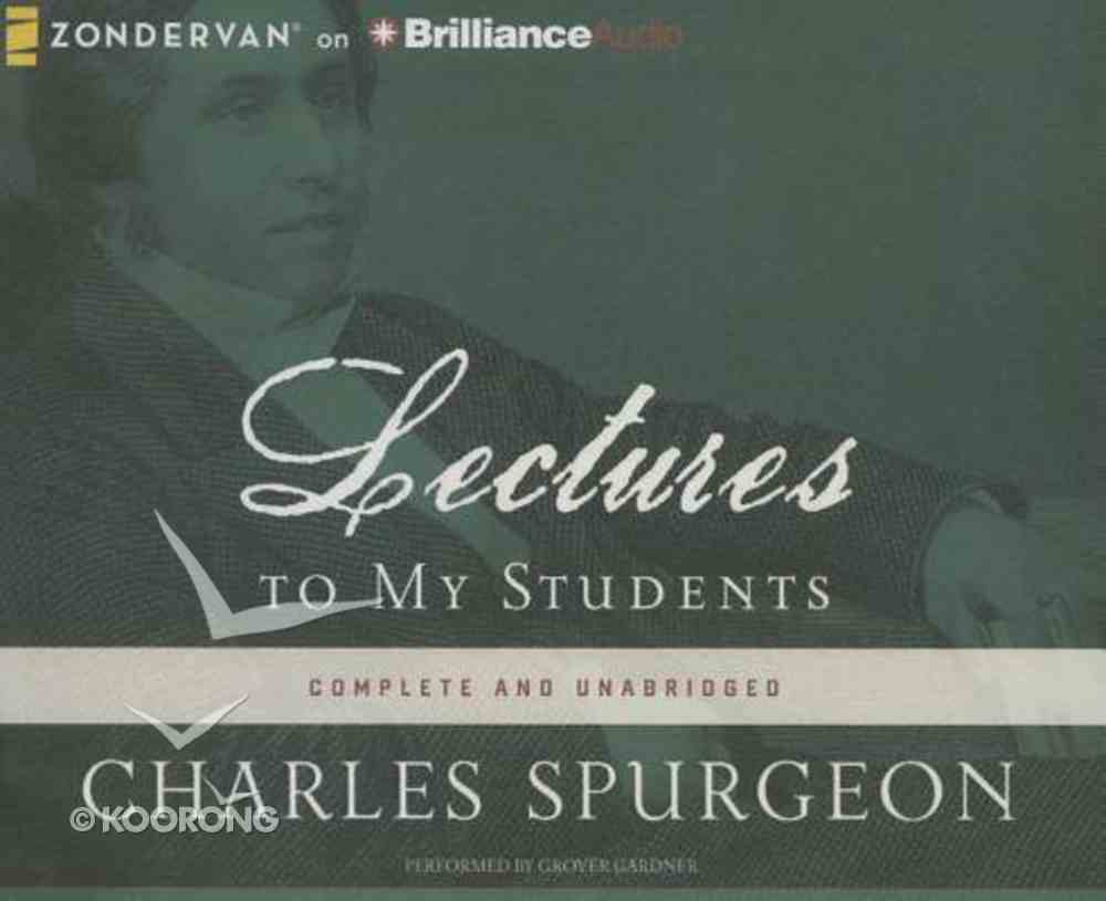 Lectures to My Students (Unabridged, 18 Cds) CD