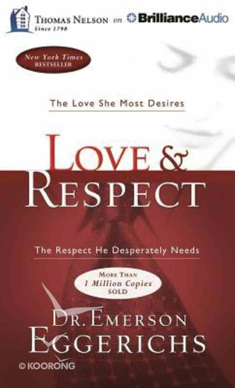 Love & Respect (Unabridged, 8 Cds) CD