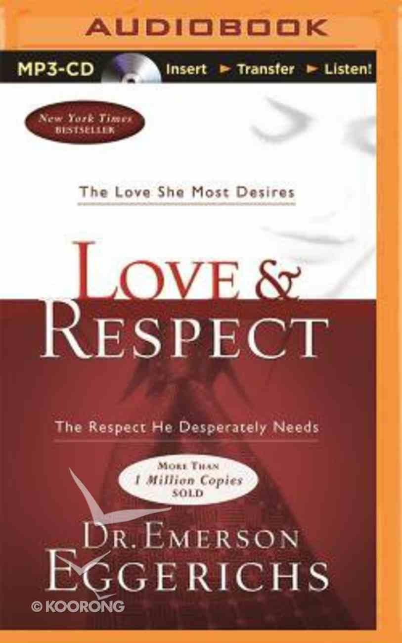 Love & Respect (Unabridged, Mp3) CD