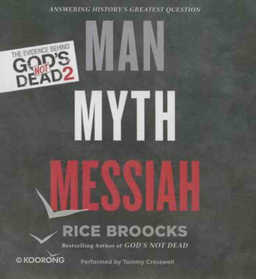 Man, Myth, Messiah (Unabridged, 4 Cds) CD