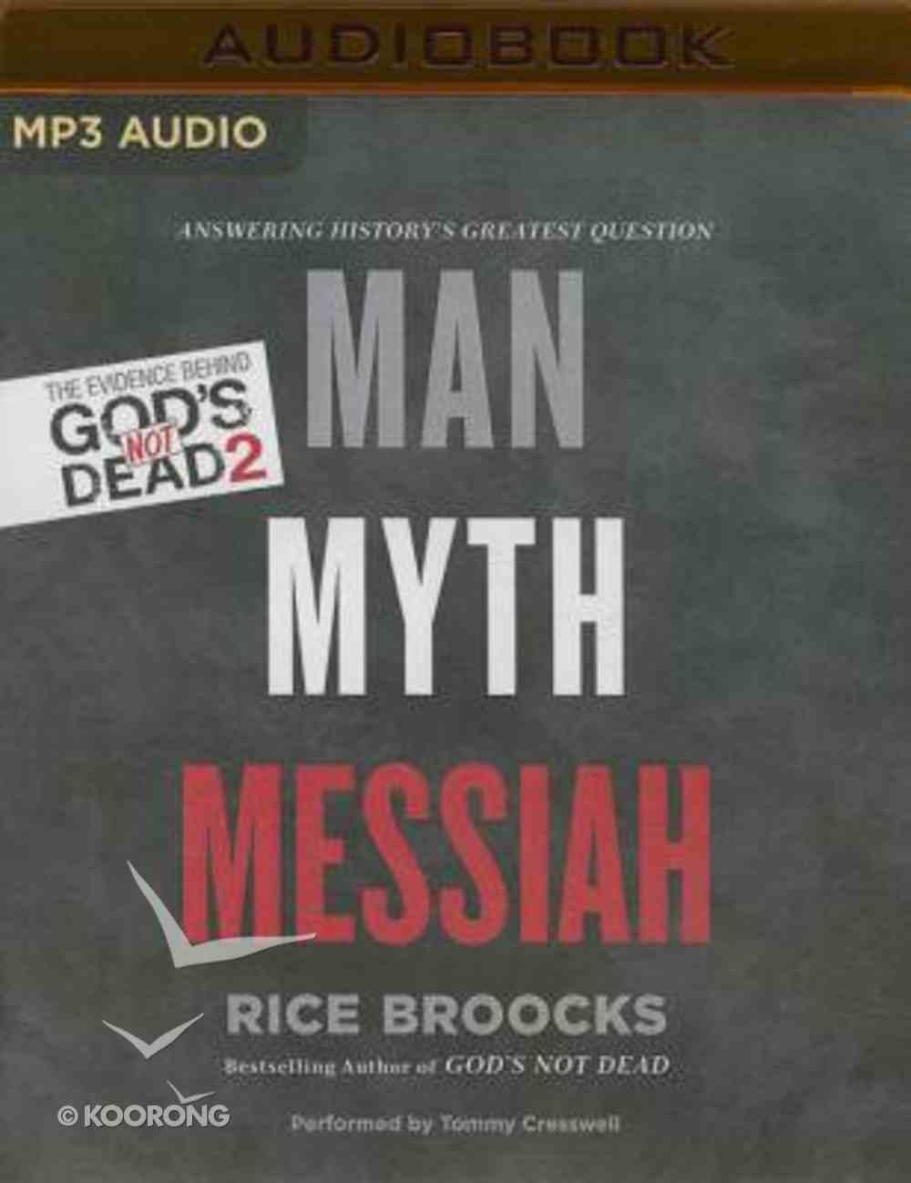 Man, Myth, Messiah (Unabridged, Mp3) CD