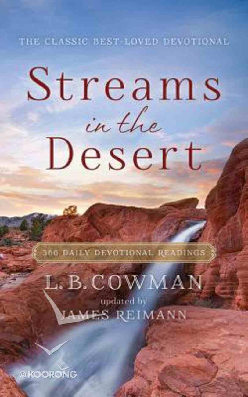 Streams in the Desert (Unabridged, 3 Cds) CD