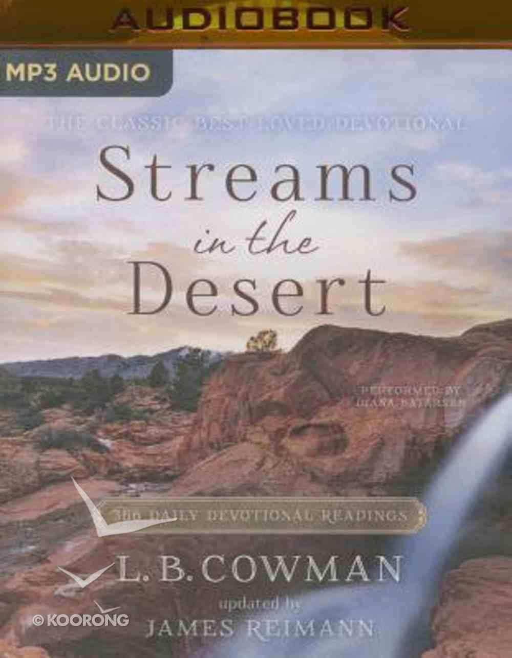 Streams in the Desert (Unabridged, Mp3) CD