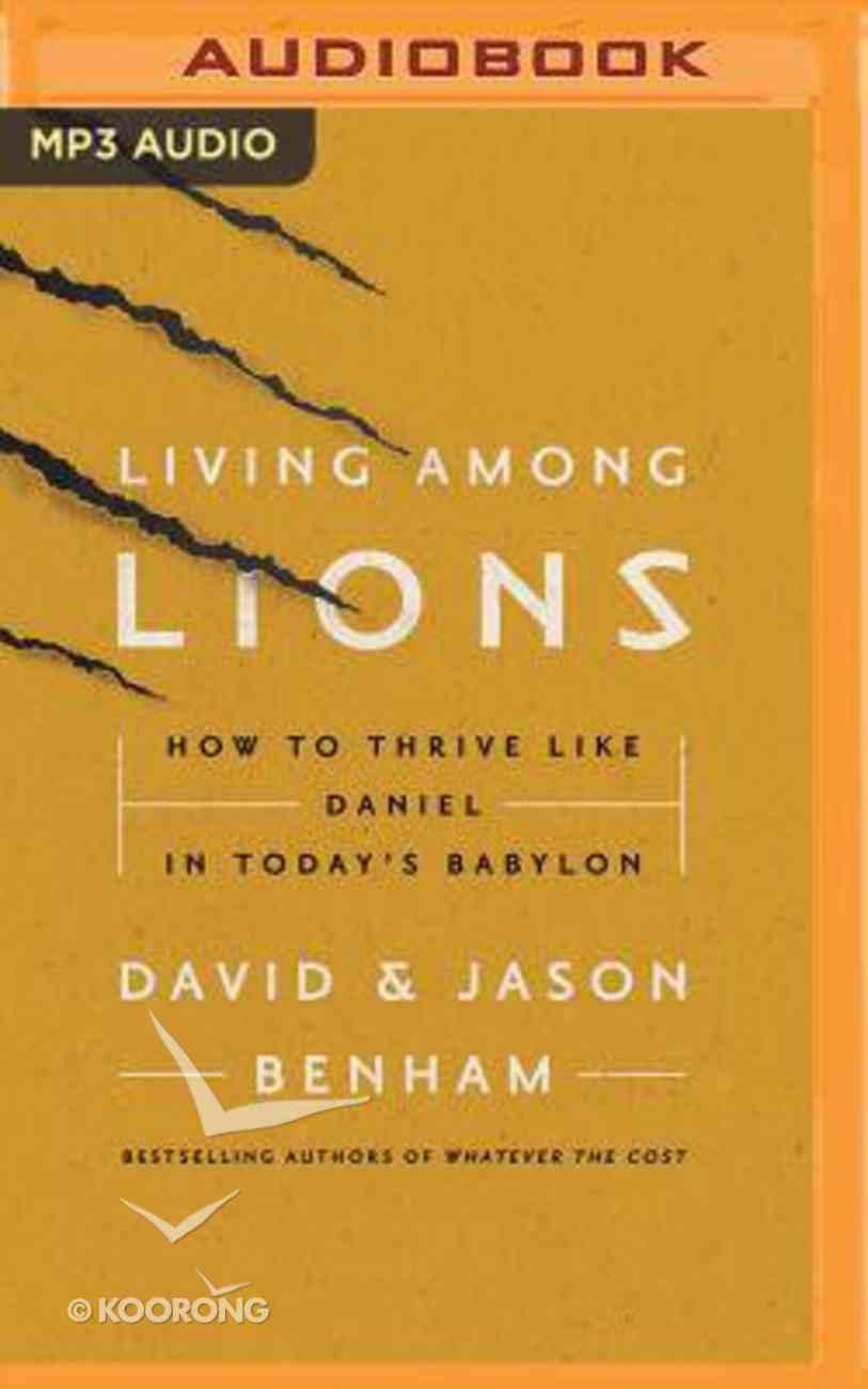 Living Among Lions (Unabridged, Mp3) CD