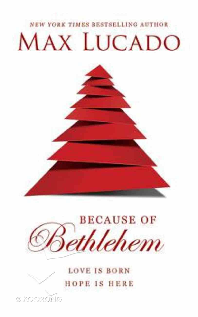 Because of Bethlehem (Unabridged, 6 Cds) CD