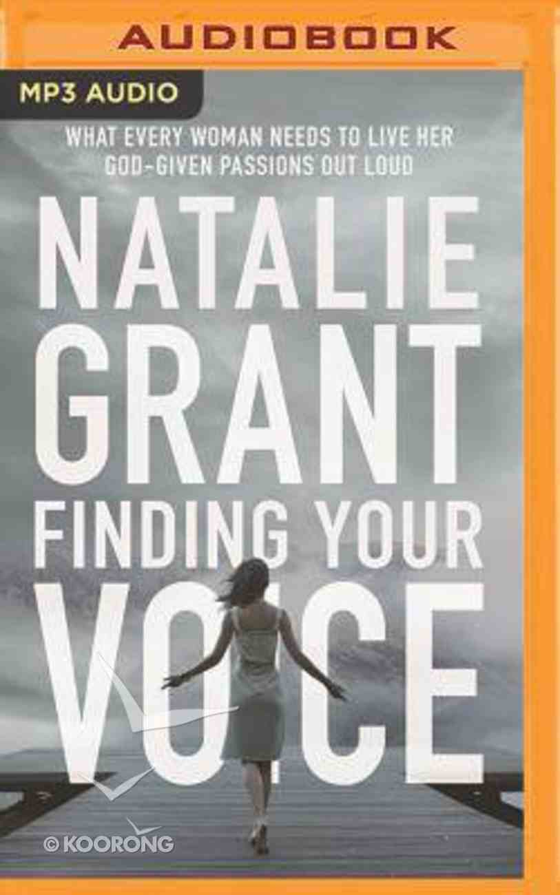 Finding Your Voice (Unabridged, Mp3) CD