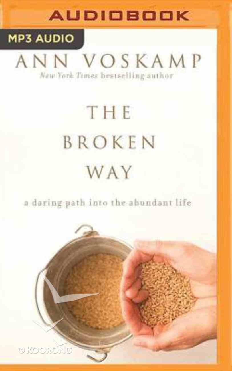 The Broken Way (Unabridged, Mp3) CD