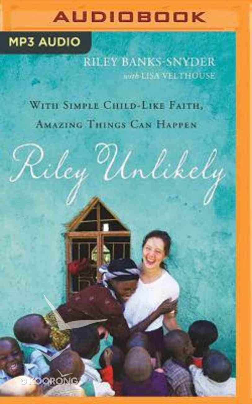 Riley Unlikely (Unabridged, Mp3) CD