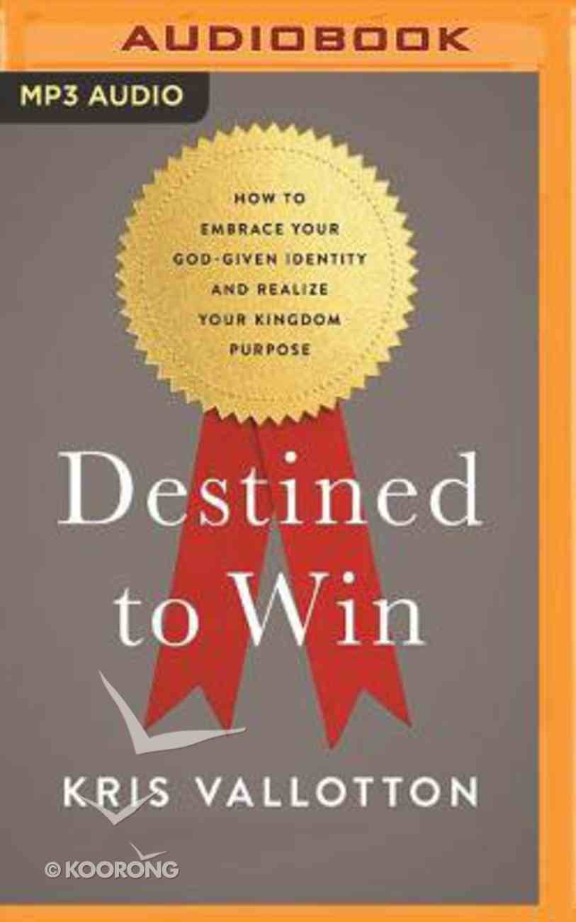 Destined to Win (Unabridged, Mp3) CD