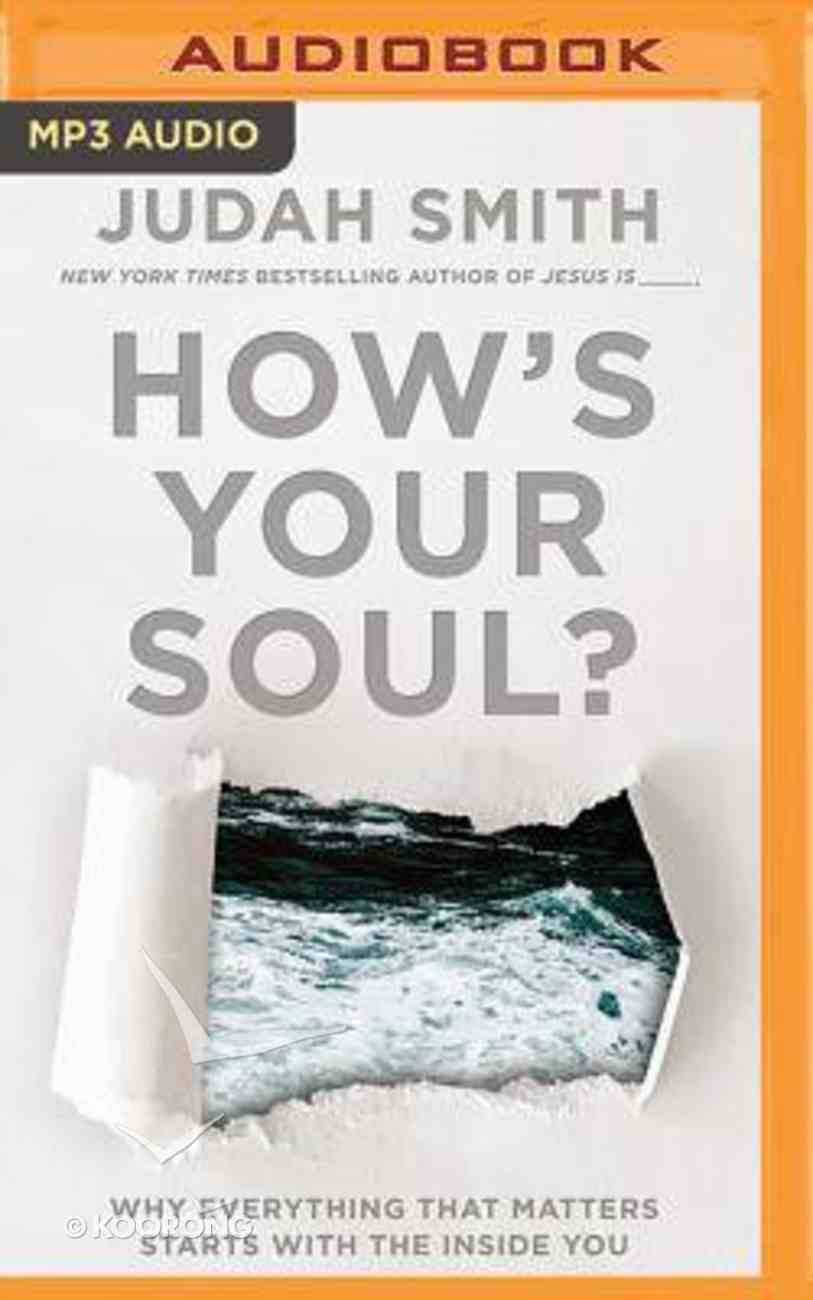 How's Your Soul (Unabridged, Mp3) CD