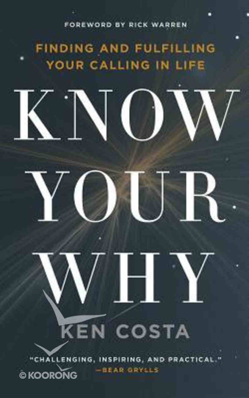 Know Your Why (Unabridged, 8 Cds) CD