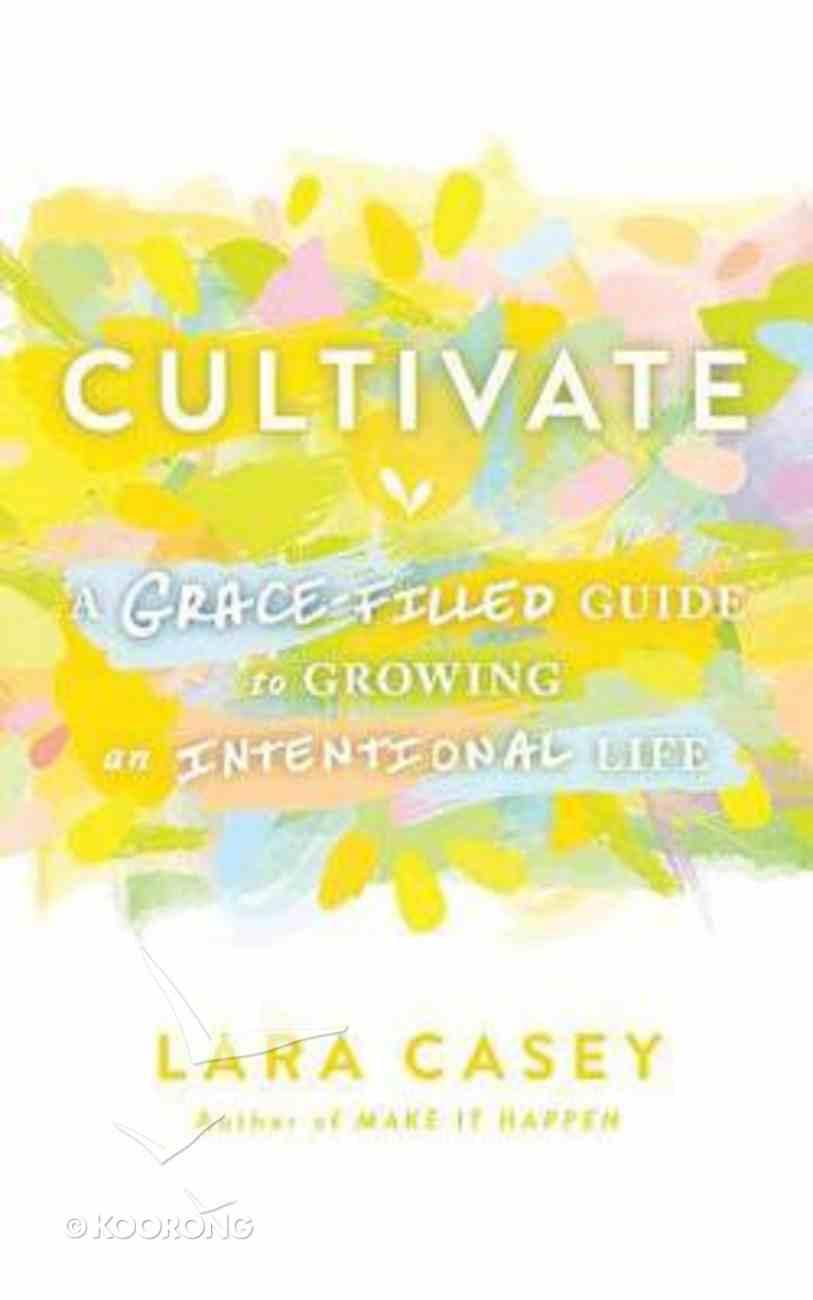 Cultivate (Unabridged, 5 Cds) CD