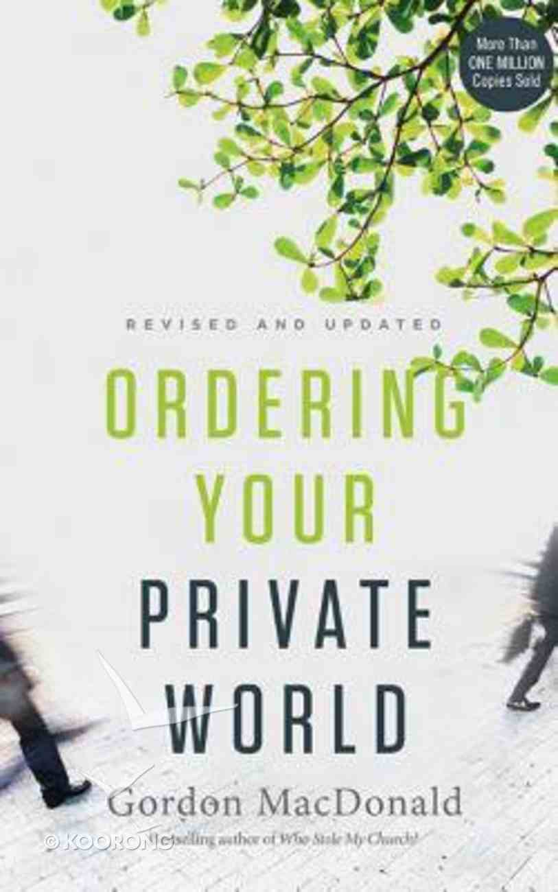 Ordering Your Private World (Unabridged, 6 Cds) CD