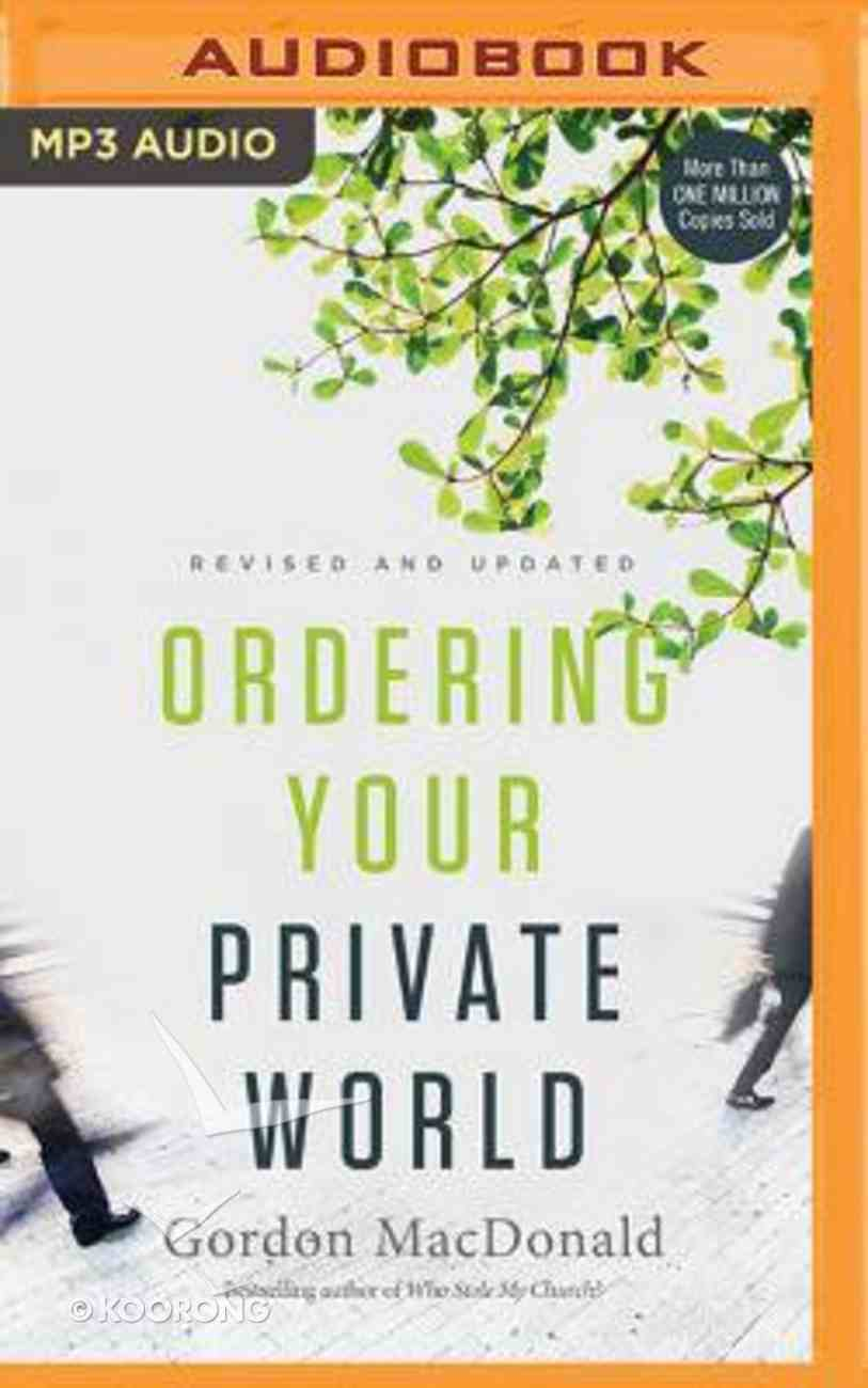 Ordering Your Private World (Unabridged, Mp3) CD