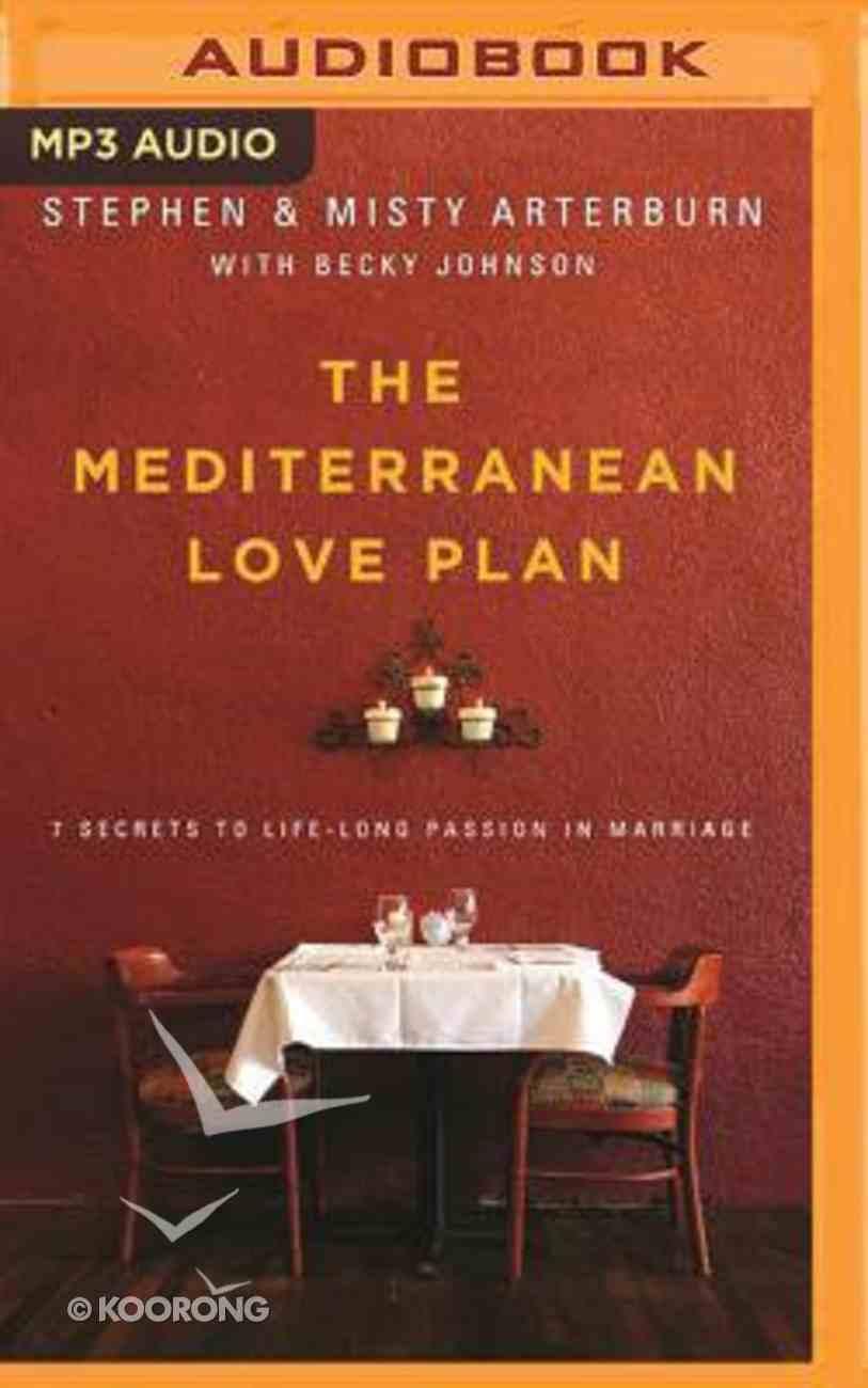 The Mediterranean Love Plan (Unabridged, Mp3) CD