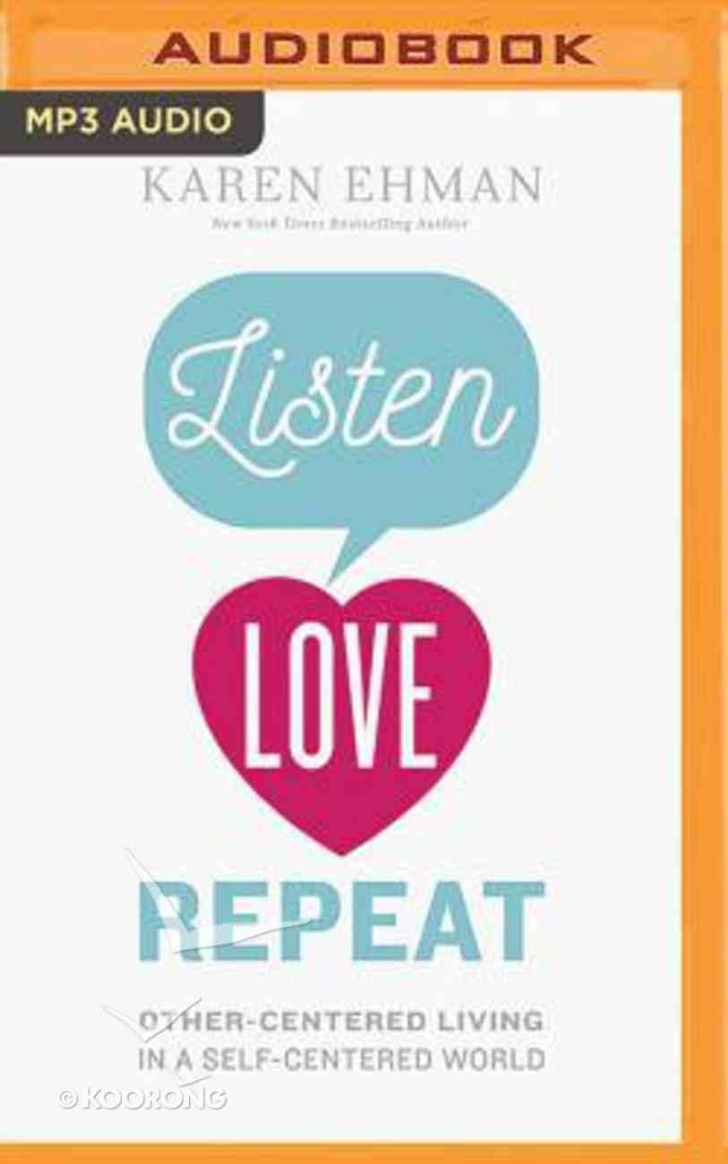 Listen, Love, Repeat (Unabridged, Mp3) CD