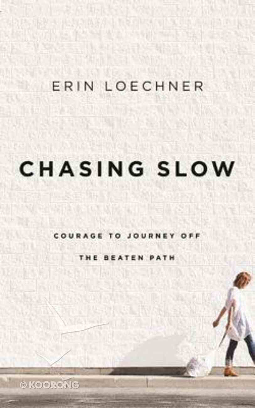 Chasing Slow (Unabridged, 6 Cds) CD