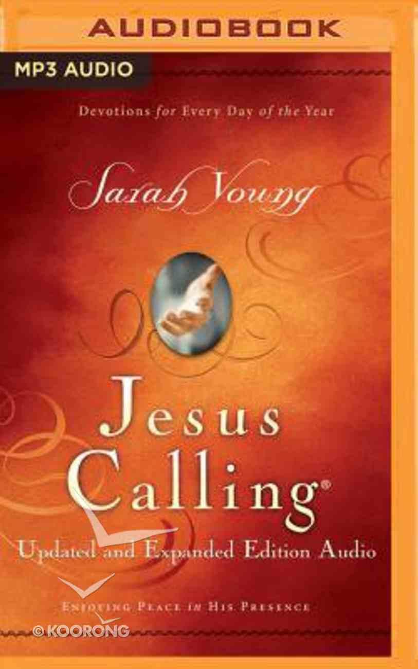 Jesus Calling (Unabridged, MP3) (& Expanded Edition) CD