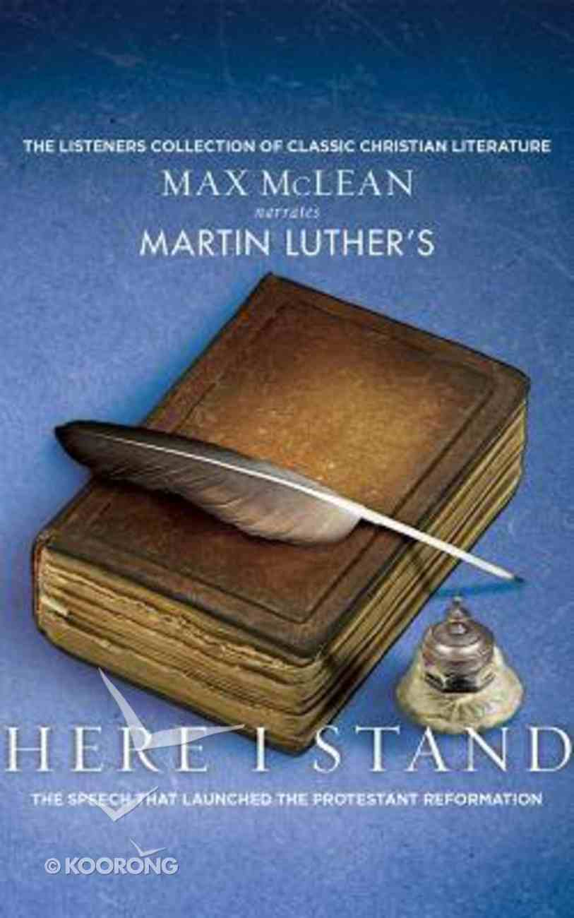 Martin Luther's Here I Stand (Unabridged, 1 Cd) CD
