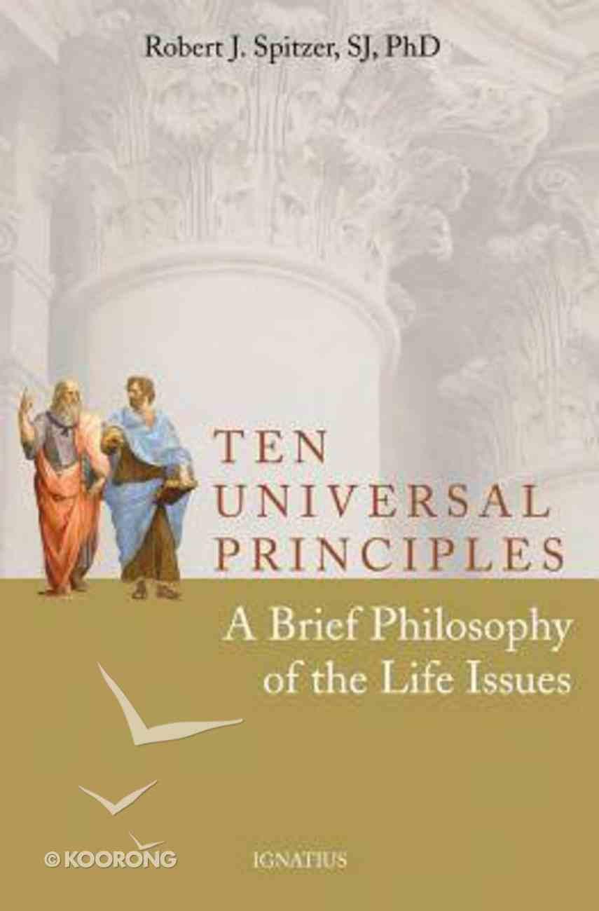 Ten Universal Principles Paperback