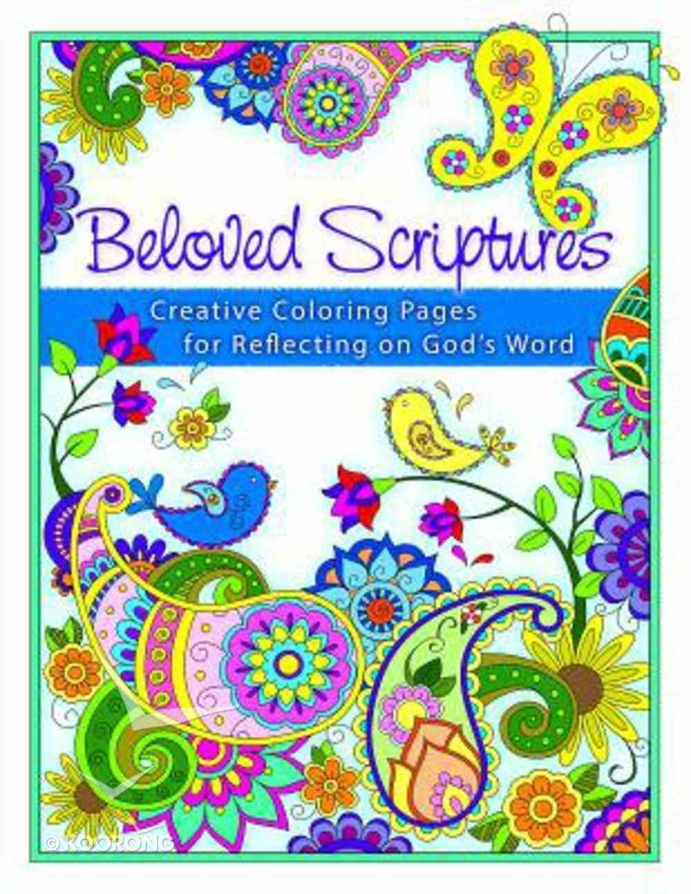 Beloved Scriptures (Adult Coloring Books Series) Paperback