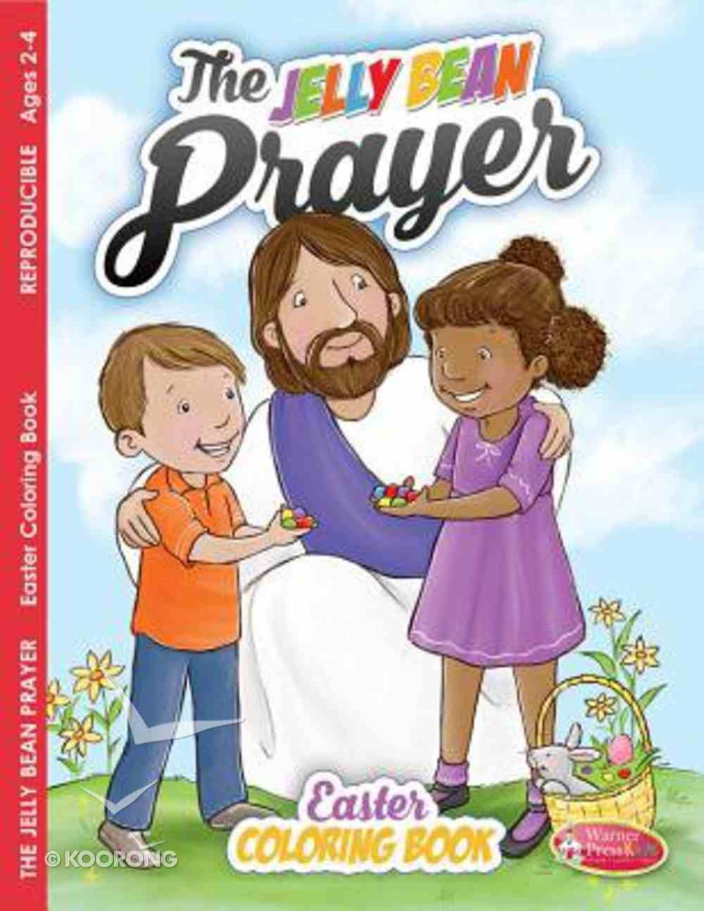 Easter - Jelly Bean Prayer (Ages 2-4, Reproducible) (Warner Press Colouring/activity Under 5's Series) Paperback