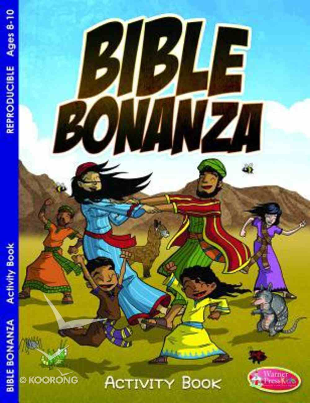 Bible Bonanza (Ages 6-10, Reproducible) (Warner Press Colouring & Activity Books Series) Paperback