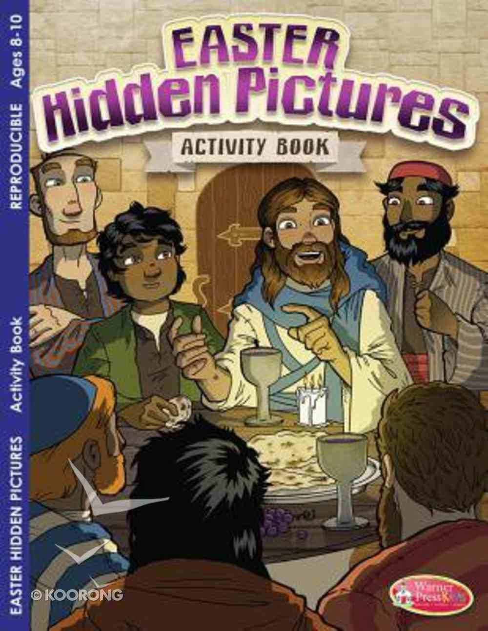 Easter Hidden Pictures Activity Book (Ages 8-10, Reproducible) (Warner Press Colouring & Activity Books Series) Paperback