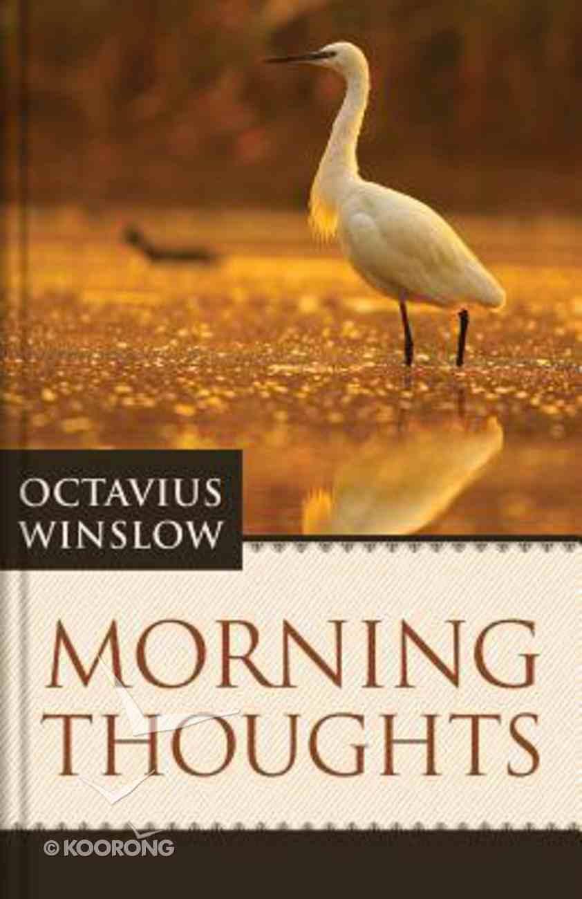 Morning Thoughts Hardback