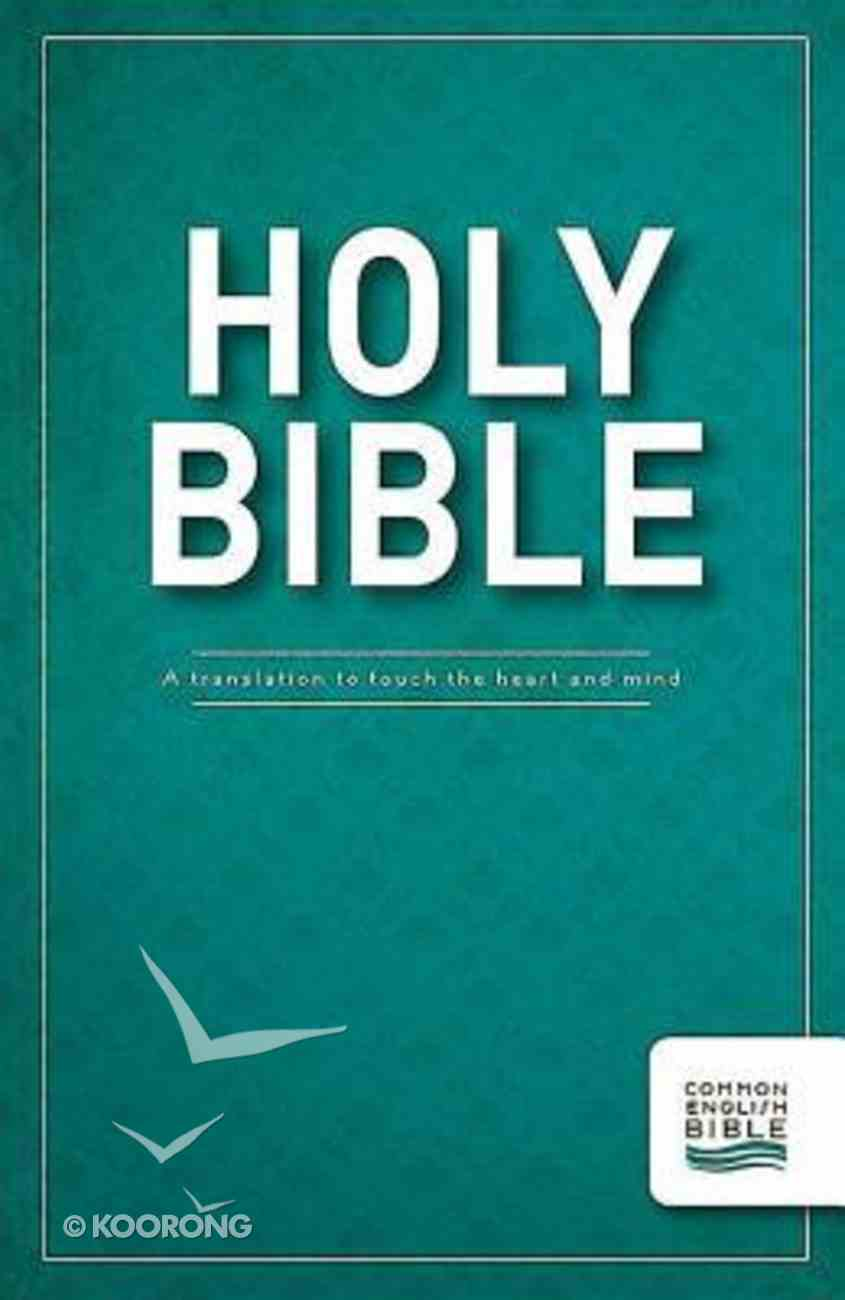 Ceb Thinline Bible Paperback