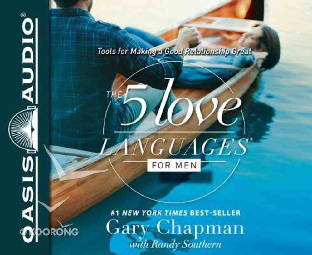 The 5 Love Languages For Men (Unabridged, 4 Cds) CD