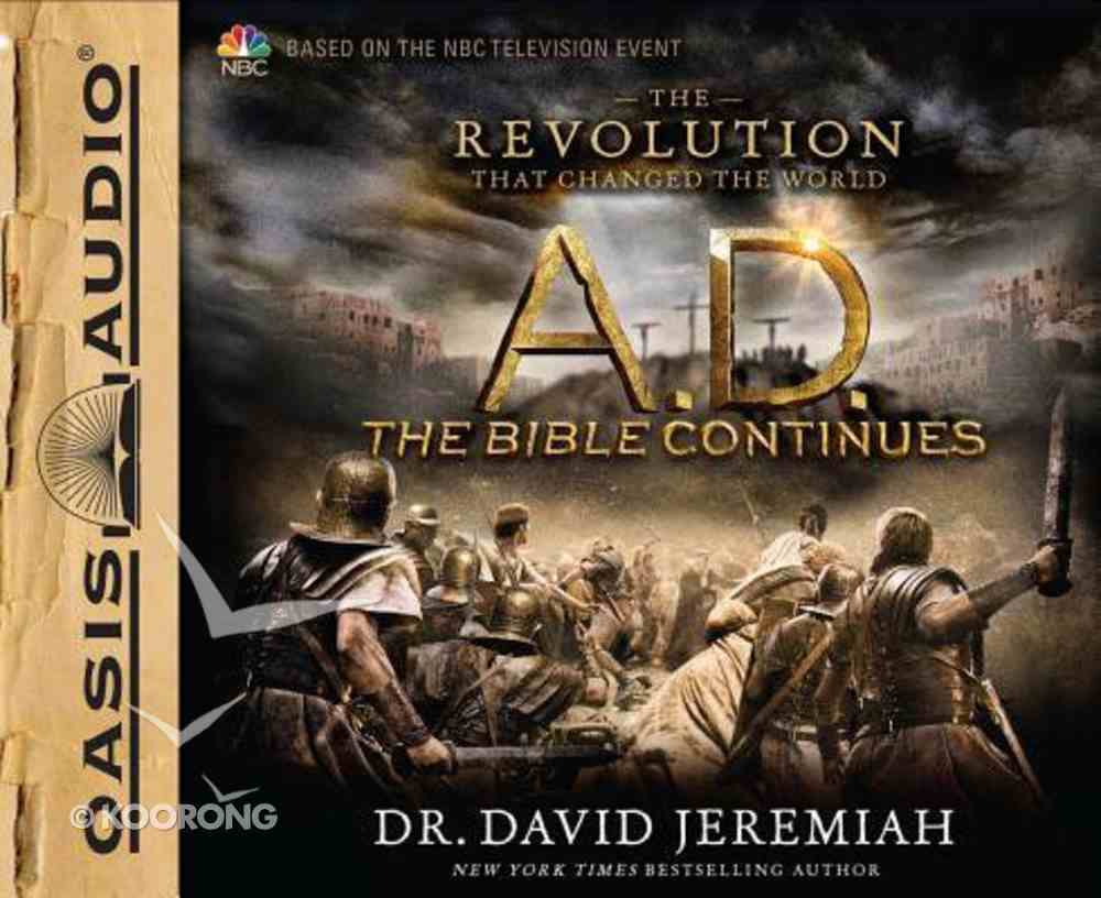 A.D.: The Revolution That Changed the World (Unabridged, 5 Cds) CD