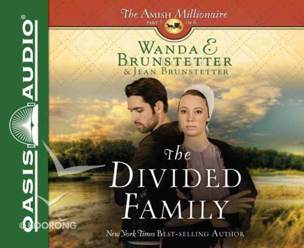 The Divided Family (Unabridged, 2 CDS) (#05 in The Amish Millionaire Audio Series) CD