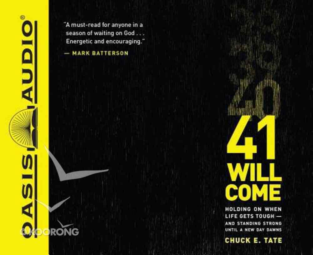 41 Will Come (Unabridged, 6 Cds) CD
