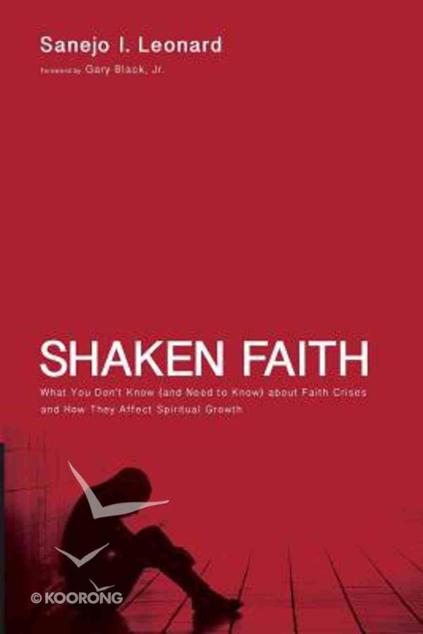 Shaken Faith Paperback