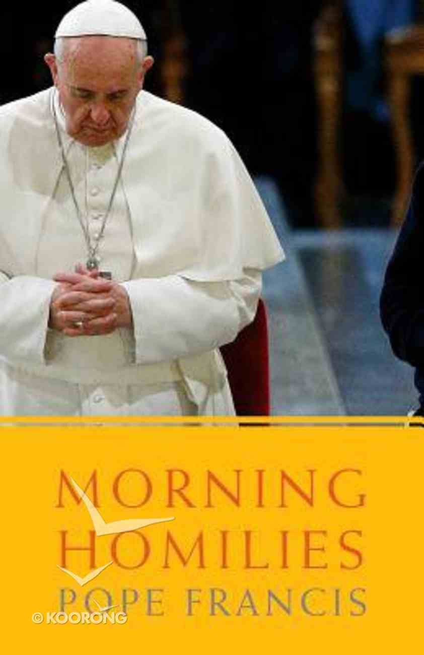 Morning Homilies Paperback