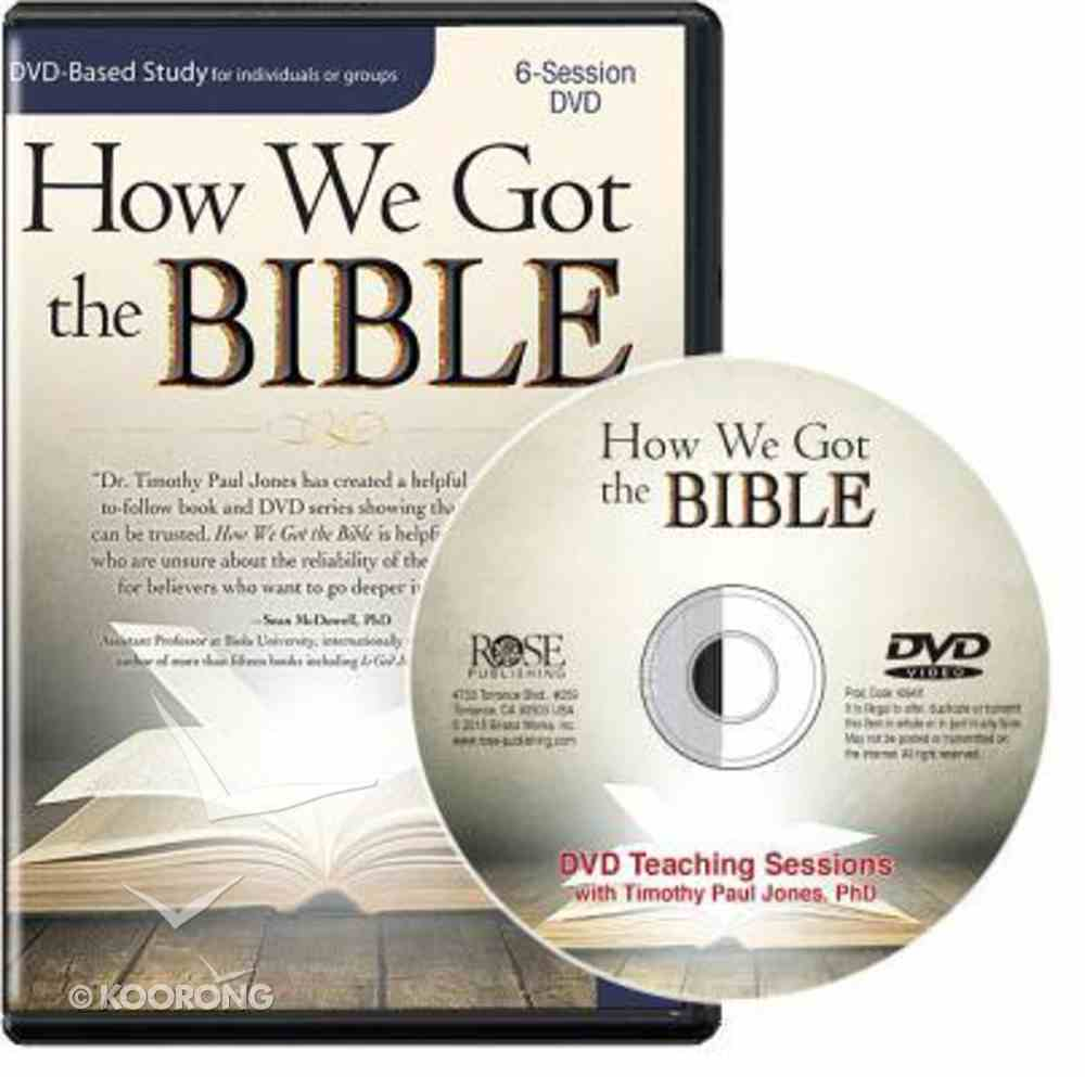 How We Got the Bible DVD