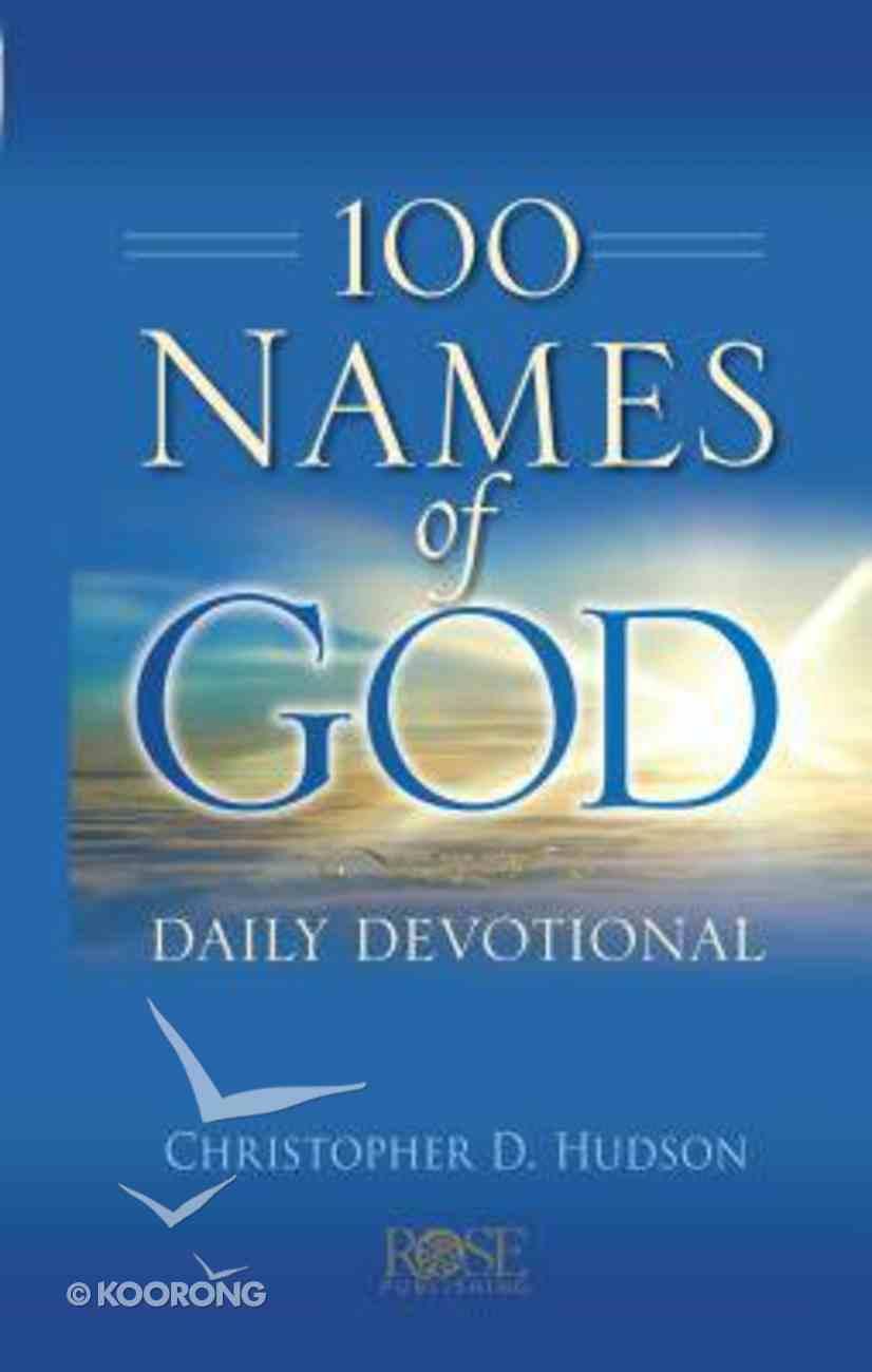 100 Names of God Daily Devotional Hardback