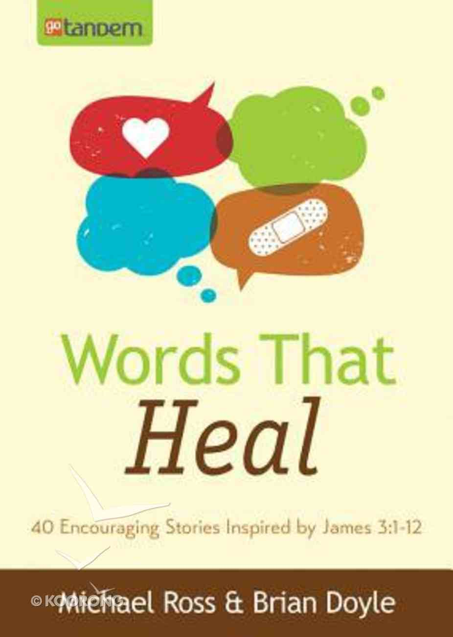 Words That Heal Paperback