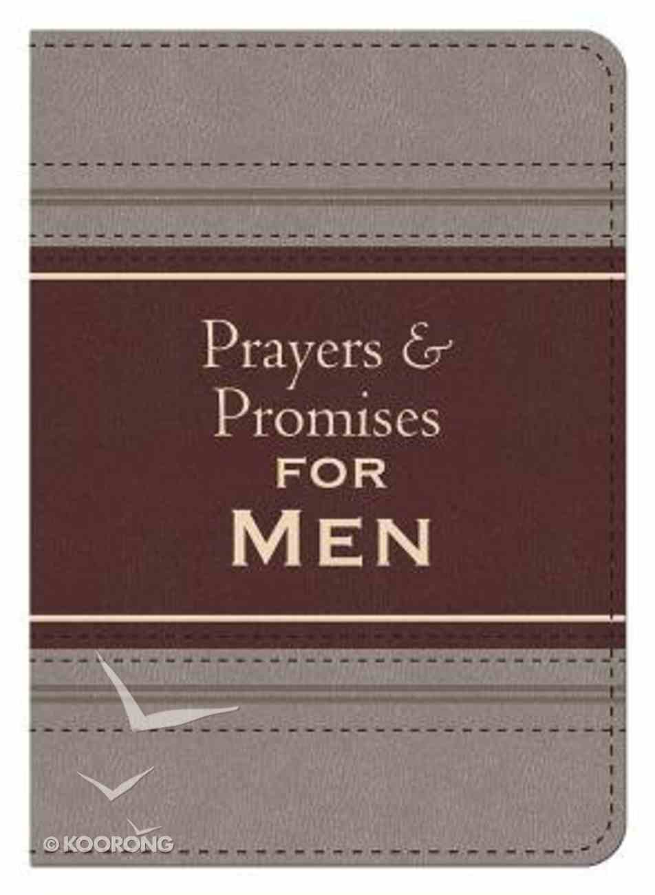 Prayers and Promises For Men (Kjv) Imitation Leather
