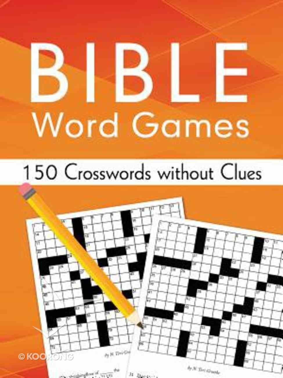 Bible Word Games Paperback