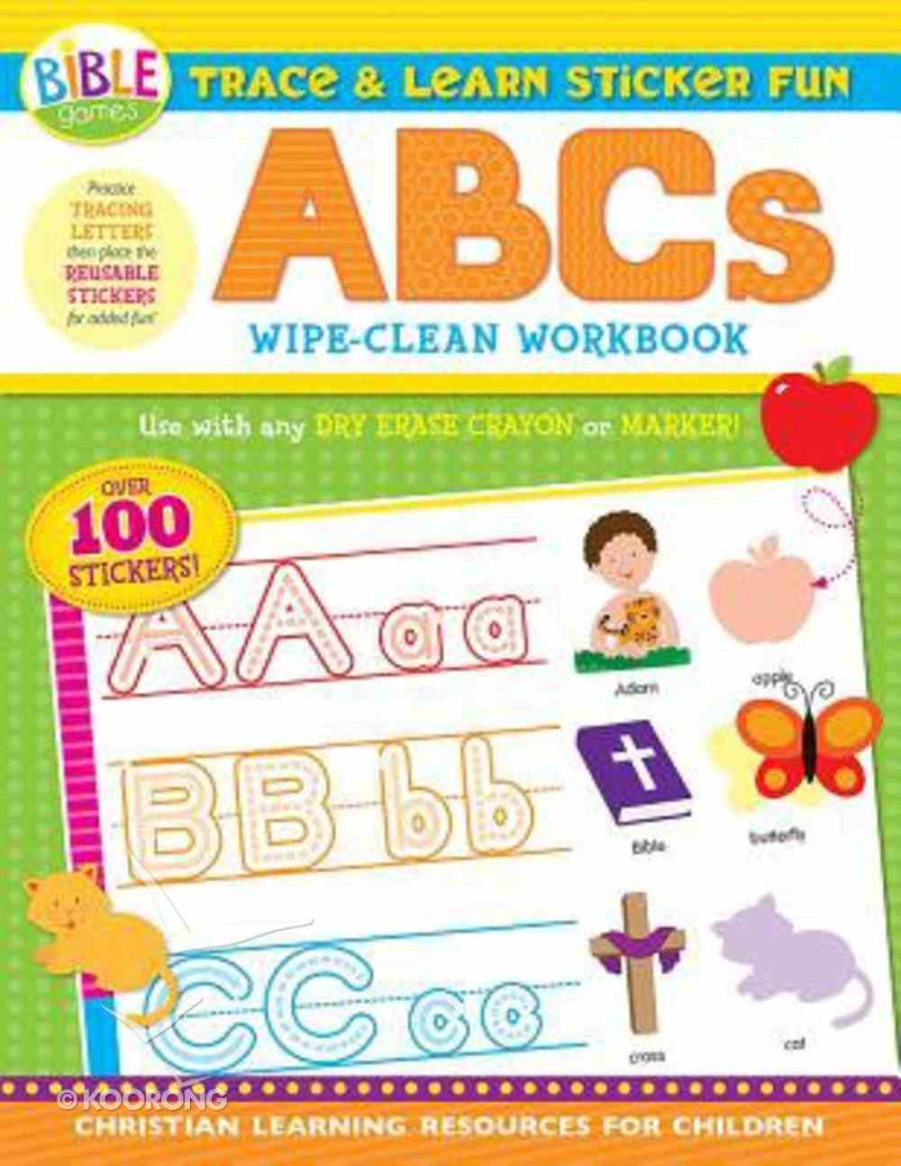 Trace and Learn Sticker Fun: ABCS Paperback