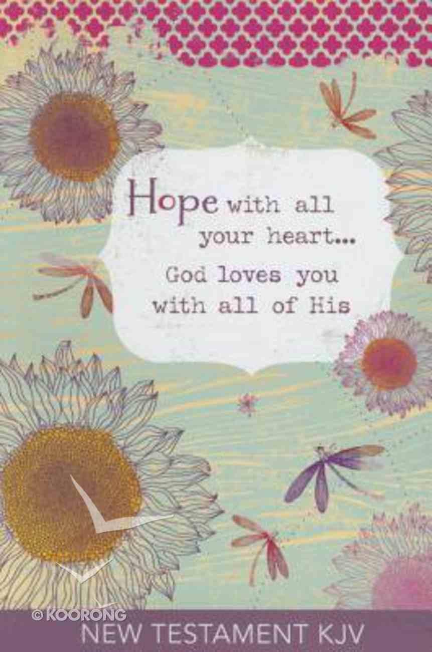 KJV Gift New Testament Hope Paperback