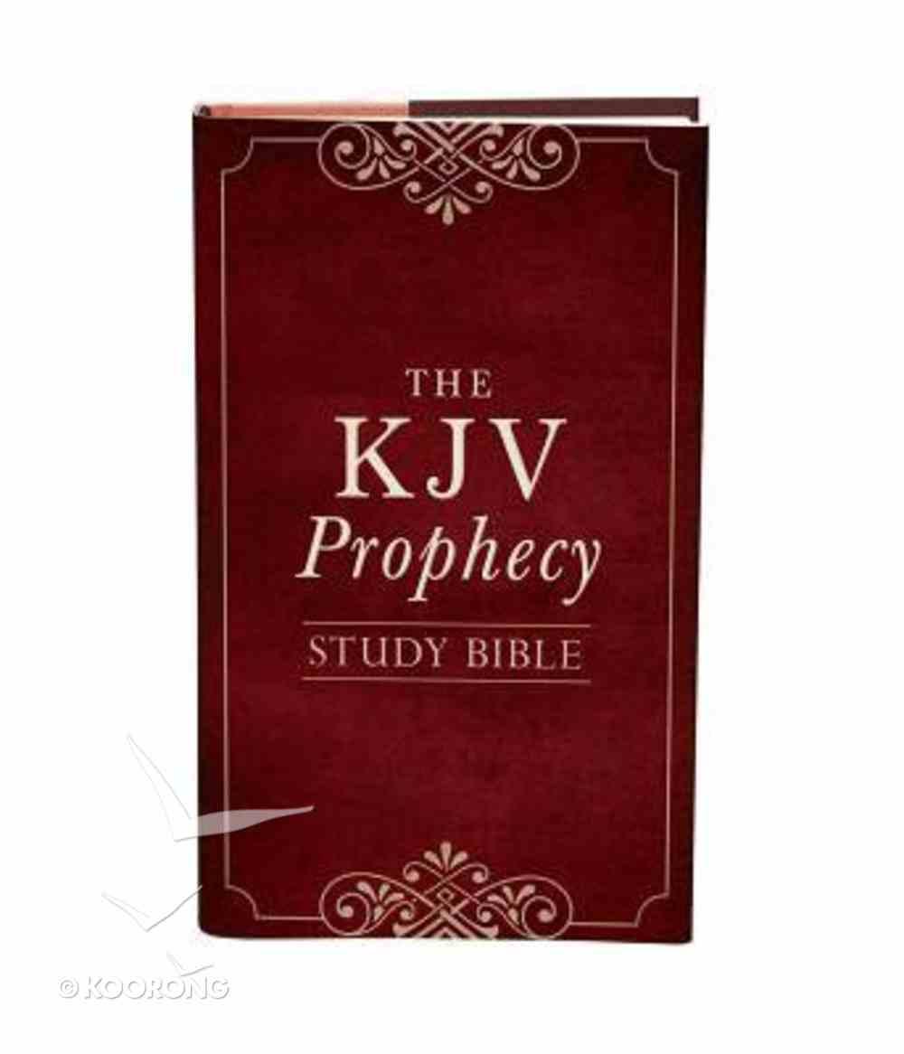 KJV Prophecy Study Bible Hardback