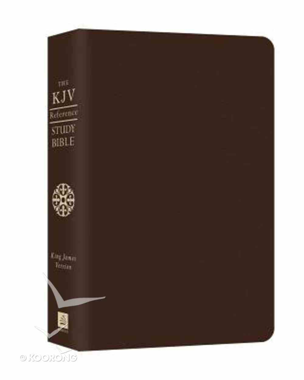 KJV Cross Reference Study Bible Brown Bonded Leather