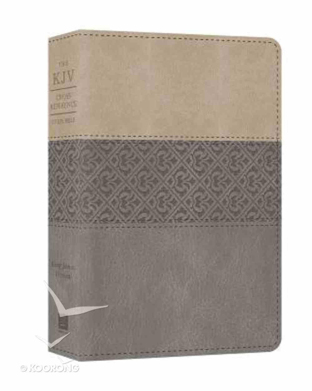KJV Cross Reference Study Bible (Gray) Imitation Leather