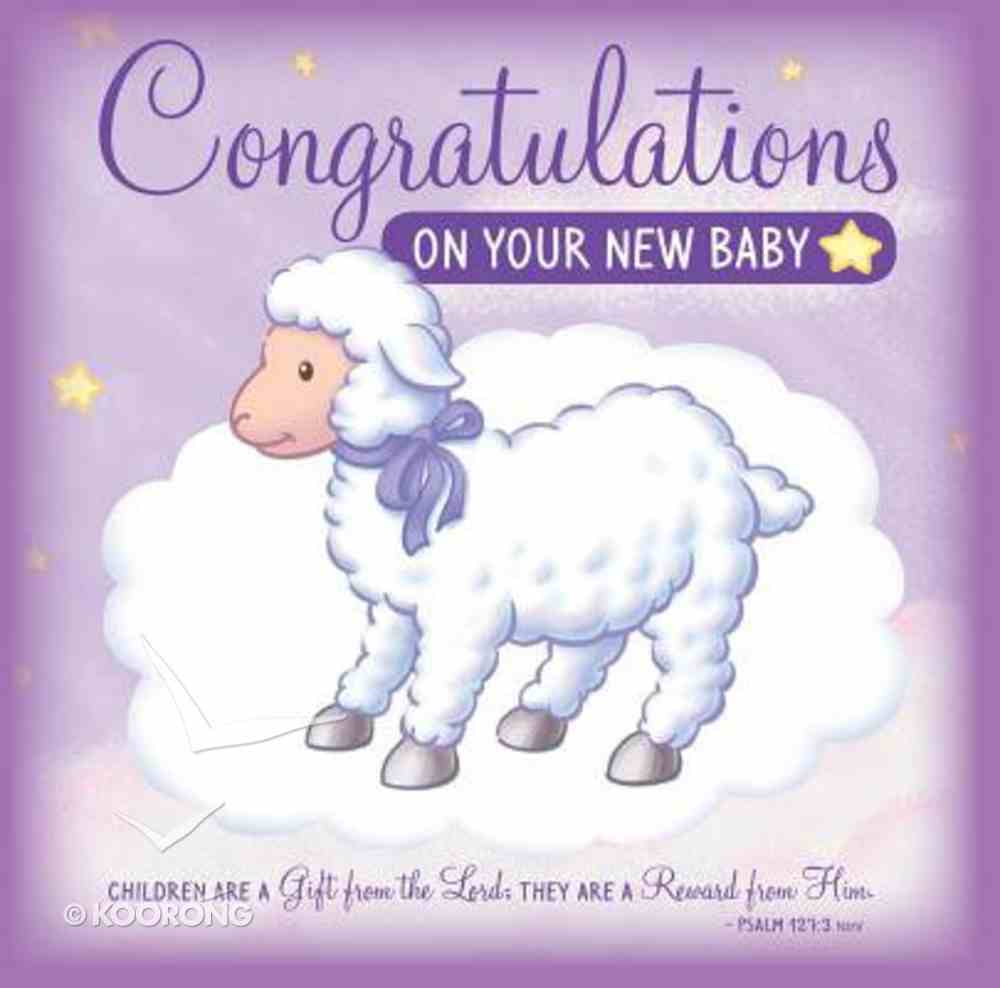 Congratulations on Your New Baby (Greeting Card/cd) Pack