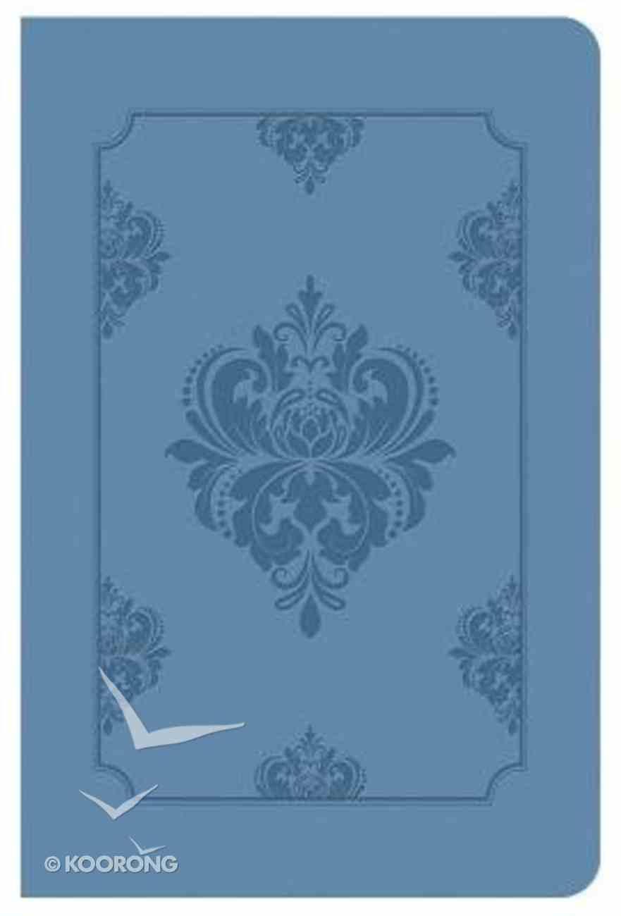 KJV Deluxe Gift & Award Bible Light Blue Imitation Leather